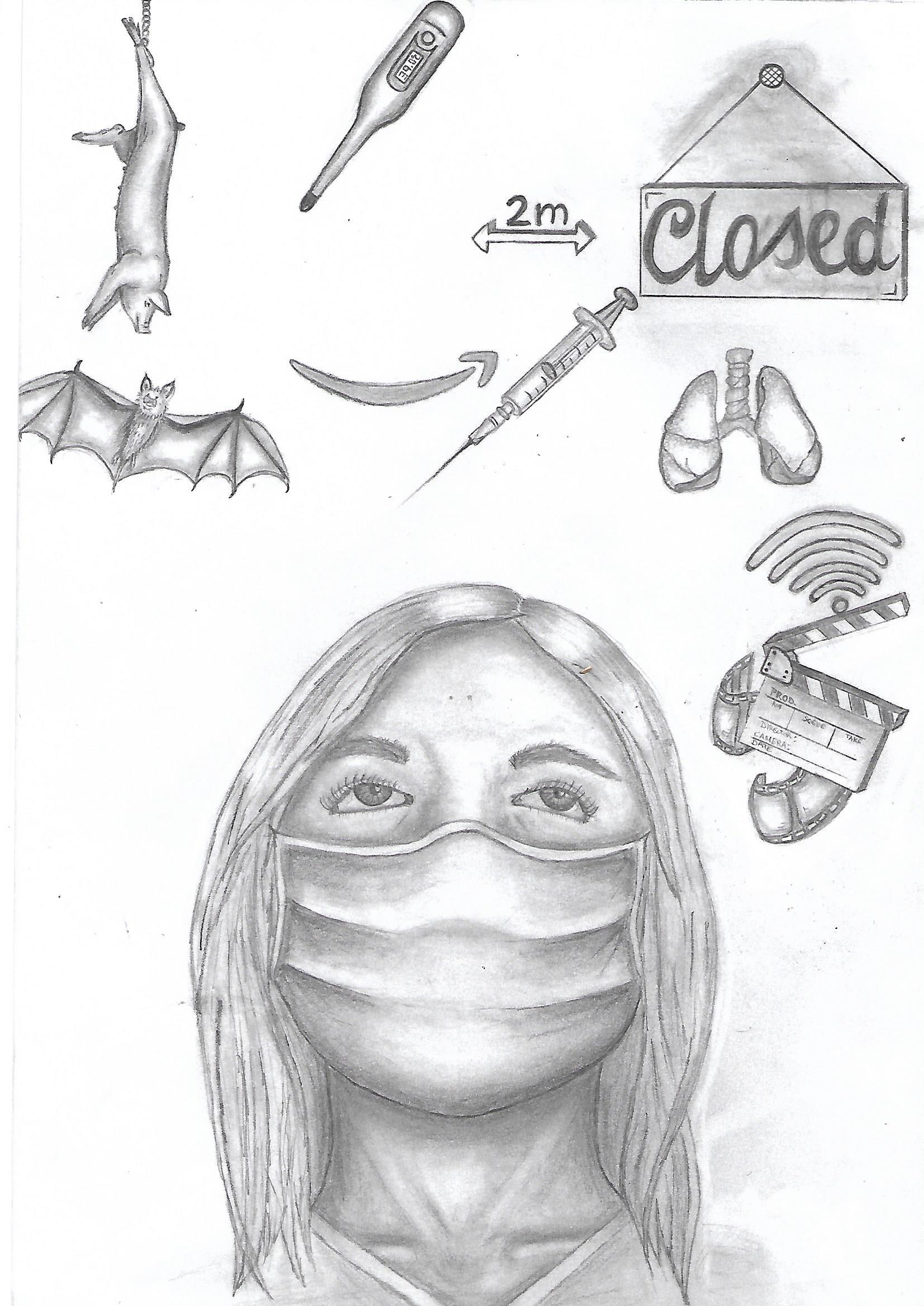 Illustration Corona - Sophia-Charlotte Panknin